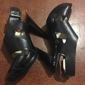 "Michael Kors ""Carla"" cone heel platform sandal"